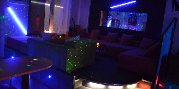 Swingerclub Waldhaus Loungebereich